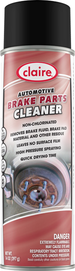 AUTOMOTIVE BRAKE PARTS CLEANER 14 OZ CAN (12 CANS