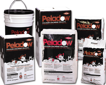 CALCIUM CHLORIDE PELADOW 50# BAGS (55 BAGS ON SKID)