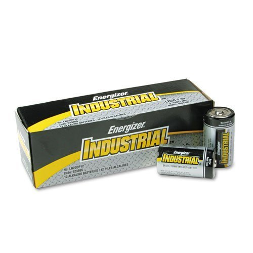 BATTERY D ENERGIZER INDUSTRIAL 12