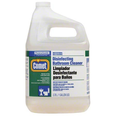COMET DISINFECTANT BATHROOM CLEANER 1 GALLON JUGS 3 PER