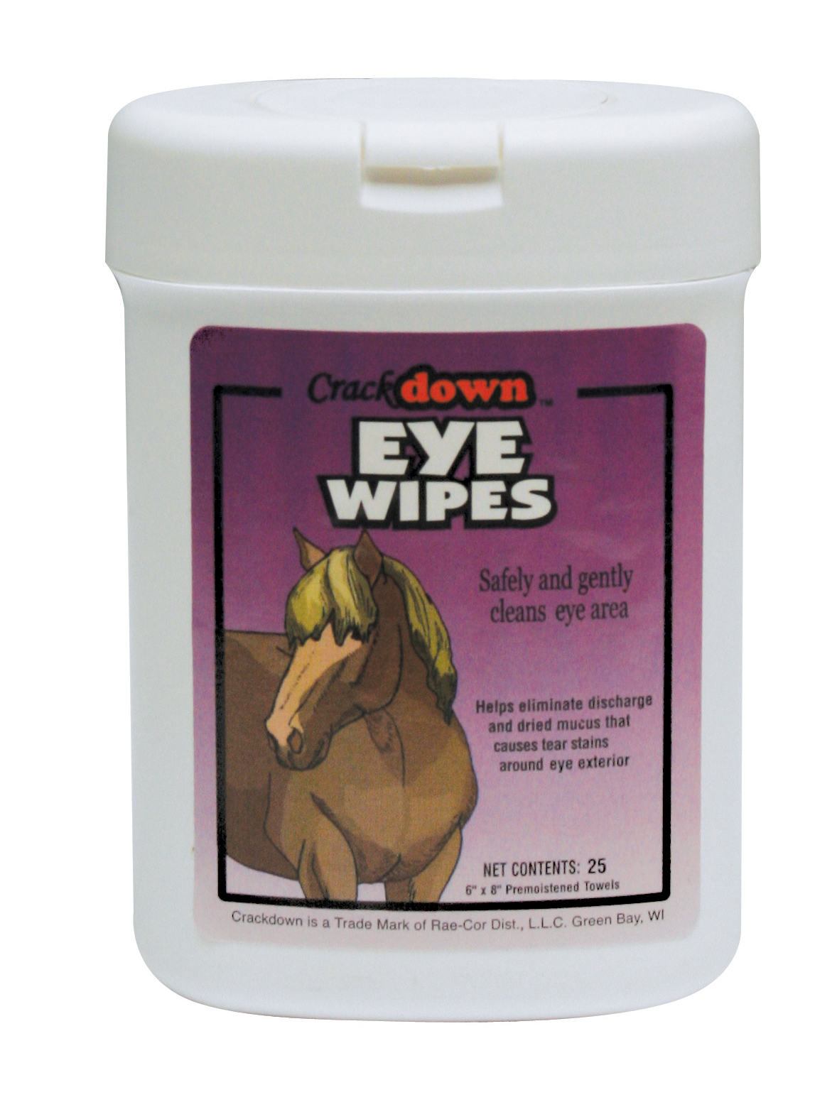 HORSE EYE WIPES - 25 COUNT CANISTER