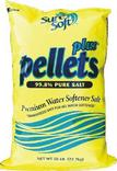 WATER SOFTENER SALT - PELLETS PLUS SURESOFT 50# BAG