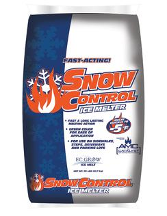 ICE MELT SNOW CONTROL 50# BAG MELTS TO -5 F ( 49 BAGS ON