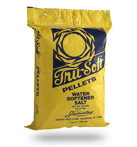 SALT - PELLETS TRU SOFT 50# BAG (49 ON SKID)